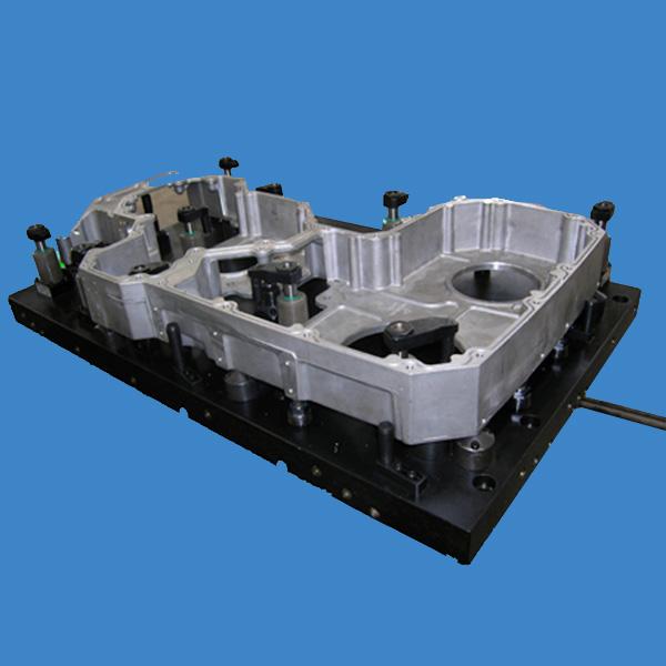 齿轮室立加液压夹具